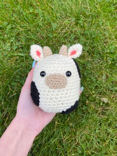 Loom Crochet, Crochet Food, Crochet Gifts, Kawaii Crochet, Cute Crochet, Crochet Baby, Diy Crafts For Gifts, Cute Crafts, Yarn Crafts