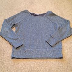 Gorgeous sparkly sweater Very gorgeous sparkly sweater with a see through back. Very cozy and warm. Worn a handful of times so still in good condition. aerie Sweaters