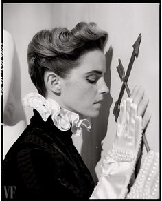 Emma Watson @ Vanity Fair, March 2017 Photographed by Tim Walker
