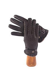 Man leather gloves- Handmade- Capri Gloves
