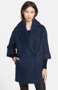 Helene Berman Oversize Double Breasted Coat available at #Nordstrom