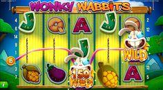 Net Entertainment yllättää taas! Tällä kertaa arjen piristävällä peliuutuudella: Wonky Wabbits!  Hauska, värikäs ja hullu! Lue lisää blogistamme!