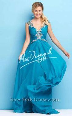 Mac Duggal 65108L - NewYorkDress.com