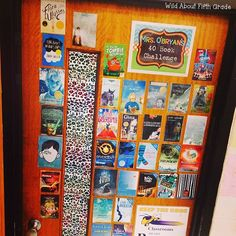 Wild about fifth grade: 40 Book Challenge FREEBIES and more Organization and display resources for the 40 book challenge for teacher and students! 40 Book Challenge, Reading Challenge, Math Workshop, Readers Workshop, Book Suggestions, Book Recommendations, Reading Skills, Teaching Reading, Learning