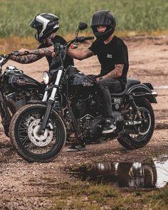 Bobber Motorcycle, Bobber Chopper, Motorcycle Outfit, Girl Motorcycle, Motorcycle Quotes, Moto Bike, Harley Dyna, Harley Bikes, Street Bob