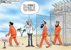 Liberal, Terrorist, and Obama Cartoons