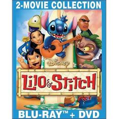 Buy Lilo & Stitch / Lilo & Stitch 2: Stitch Has A Glitch (Blu-ray + DVD) (Widescreen) at Walmart.com