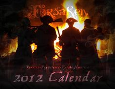The Forsaken - Pyrates-Privateers-Pyrate Hunters 2012 Calendar