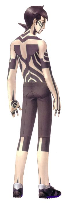 Demi-fiend - Megami Tensei Wiki: a Demonic Compendium of your True Self