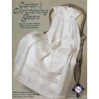 Carter's Christening Gown Pattern by Connie Palmer | Martha Pullen