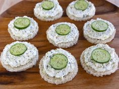 Cucumber Rye Tea Sandwiches - Recipe from The Help Movie ~ Total Time: 30 Minutes Servings: 18   INGREDIENTS -  1 large seedless cucumber, peeled and cut into 3-inch lengths  3 tbsp cider vinegar  1 tbsp fresh lemon juice  1 tbsp sugar   1/2 tsp salt  36 slices party rye or 18-36 slices of rye bread  12 oz. cream cheese, softened  1 scallion, finely chopped  1 Persian cucumber, thinly sliced  Freshly ground black pepper  YOU WILL ALSO NEED - 2-inch cookie cutter (if you can't find party rye)