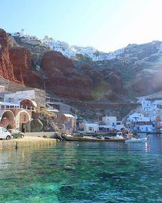 Beauty of Santorini Greece ...