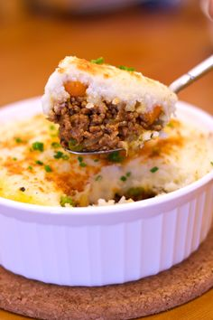 Says shepherd's pie, but made with ground beef - cottage pie