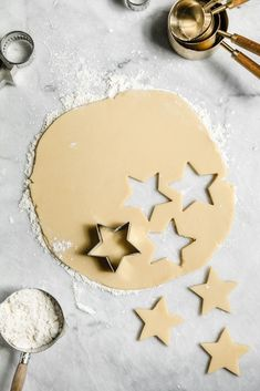 How to Make the Best Sugar Cookies - Broma Bakery Roll Out Sugar Cookies, Homemade Sugar Cookies, Sugar Cookie Frosting, Mini Cookies, Cut Out Cookies, Sugar Cookies Recipe, Cookie Recipes, Baking Cookies, Christmas Recipes