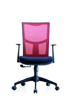 Scaun de birou ergonomic Novo S108 #officechair Chair, Red, Furniture, Black, Home Decor, Decoration Home, Black People, Room Decor, Home Furnishings
