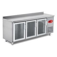Camlı Tezgah Tipi Buzdolapları | Empero Endüstriyel Mutfak Ekipmanları Pazarlama İç ve Dış Ticaret A.Ş.