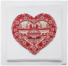 misha_cards / Srdce domova