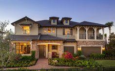 Barrington Plan Parkland, FL 33076 5 bed,  4 full, 1 partial bath, 5,312 sqft  Single-Family Home Price: $842,990 Contact:michelle@theliottagroup.com