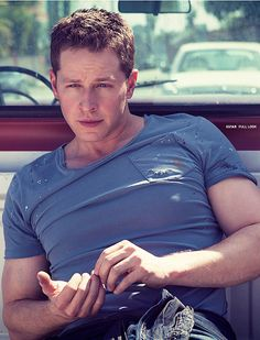 Josh Dallas (maybe a little too much makeup in this pic....still hot!)
