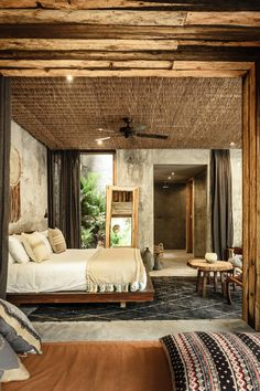 More feel and decor and lets put texture on the ceilings own bedrooms like this!