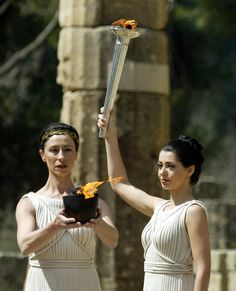 Olympic Flame - Ancient Olympia - GREECE! #olympia http://blog.keytours.gr/2013/05/olympia-unique-experience-at-affordable.html
