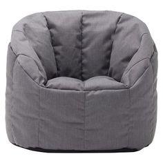 Small Bean Bag Club Chair - Gray - Pillowfort™