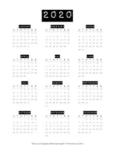 Free DIY Printable Bullet Journal and Planner Calendar SUNDAY and MONDAY START available 2020 Calendars! Vintage label style calendar with both black… Bullet Journal Calendar Printable, Bullet Journal Stickers, Bullet Journal Page, Journal Template, Printable Calendar Template, Printable Planner, Free Calendar, Calendar 2019 Yearly, Calendar 2019 Design