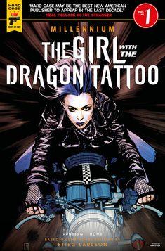 Comic Book Covers, Comic Books, Lisbeth Salander, Stieg Larsson, Thriller Novels, Pulp Fiction, Book Art, Crime, Comics