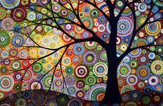 arbre et round