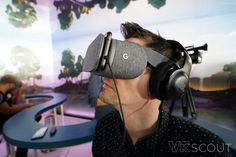 Hands On With Google's Daydream View VR Headset - VRScout
