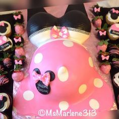 Minnie Baby - Cake by Cakelady313                                                                                                                                                      More