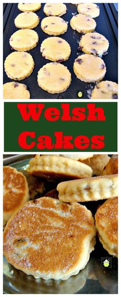 Welsh Cakes – An old family recipe, traditionally served warm, simply with a little butter on the tops! Welsh Cakes – An old family recipe, traditionally served warm, simply with a little butter on the tops! Tea Cakes, Cupcake Cakes, Cupcakes, Baking Recipes, Cookie Recipes, Dessert Recipes, Game Recipes, Vegan Recipes, Bread Recipes