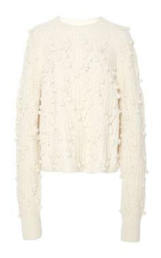 Cornelia Pom Pom Sweater by ULLA JOHNSON for Preorder on Moda Operandi
