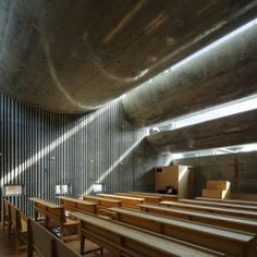Simple, elegant take on the Church that focuses on God's light, as opposed to man's attempt at decor: Shonan Christ Church by Takeshi Hosaka