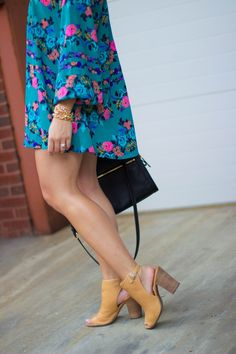 Fall floral dress from @showmeyourmumu