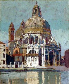 Santa Maria della Salute, Venice. Walter Richard Sickert