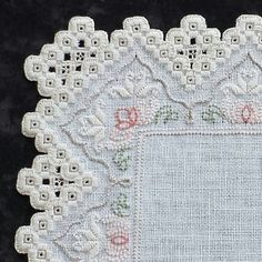 """72 Antique Beauty 10"""" doily pattern with a beautiful aged look!"""