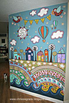 [ Wall Murals For Kids Playroom Mural Painted Houses Ideas Nurserymural Childrens Nursery ] - Best Free Home Design Idea & Inspiration