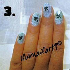 Clover-newspaper St.Patty's DayNailart by ILuvNailart1 - Nail Art Gallery nailartgallery.nailsmag.com by Nails Magazine www.nailsmag.com #nailart