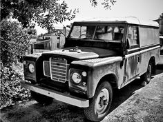 Good Old Landy Bw Hdr By Midnightlife by ODPDRUID