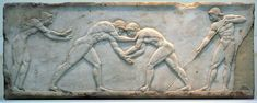 Greek wrestling was the most popular organized sport in Greece. A point is scored when one player touched the ground with his back, hip, shoulder, or tapped out due to a submission-hold. Three points had to be scored to win the match