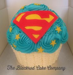 Boys ~ Superman ~ Giant Cupcake
