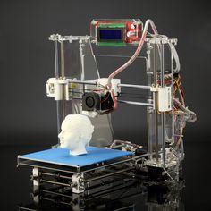 Reprap Prusa I3 3D Printer Injection Molded DIY