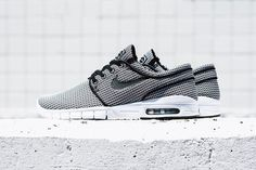 "Nike SB Stefan Janoski Max ""Checkered"": Janoksi's signature sneaker gets a houndstooth treatment. Nike Sb, Nike Shoes Maroon, Sb Stefan Janoski Max, Nike Skateboarding, Nike Shoes Outlet, Stiletto Pumps, Hot Shoes, Air Max Sneakers, Me Too Shoes"