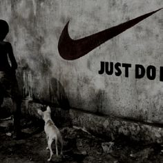 Kibera meets Nike.