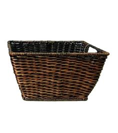 """!!! Organizing Essentials """"Woven Rectangle""""??? (it says 8x8"""") Fern Basket, , hi-res"""