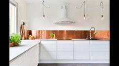 Koppar - stänkskydd kök