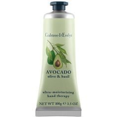 Women's Crabtree & Evelyn 'Avocado, Olive & Basil' Ultra-Moisturising... (350 ARS) ❤ liked on Polyvore featuring beauty products, bath & body products, body moisturizers, beauty, filler, no color, body moisturizer and body moisturiser