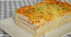 Croque cake. Receta de pastel de jamón y queso con pan de molde ¡Super fácil y con vídeo!