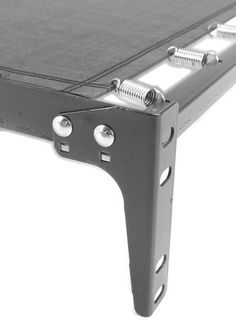 Replacement Attachment Brackets for Top Springs, Trundle Units, and Day Beds by BedClaw. $26.95. This Bracket is sold as a set of 4. Each set includes 4 Brackets, eight washers, eight acorn nuts, and eight carriage bolts allowing easy mounting to your Top Spring or Daybed unit.. If your Top Spring or Daybed is missing a bracket or two, this universal Bracket will allow you to make the necessary repair.. If your Top Spring or Daybed is missing a bracket or two,...
